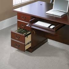 Sauder Beginnings Desk Highland Oak by Sauder Desk Sauder Heritage Hill Large Executive Desk Image