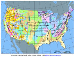 Rain Map Usa by Geol 334 Assignments