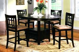 small tall kitchen table mesmerizing round bar height dining table best counter tall set