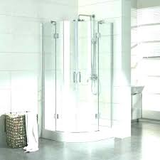 Sliding Shower Doors For Small Spaces Shower Stalls For Small Spaces Corner Framed Sliding Shower Shower