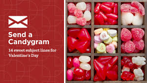 send a candygram 14 sweet subject lines for valentine u0027s day