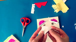 childrens book making craft my body face parts arts activity