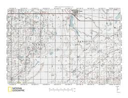 Lake Sakakawea Map Little Muddy River White Earth River Drainage Divide Area Landform