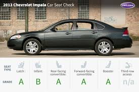 2013 chevrolet impala car seat check news cars com