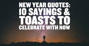 toast quotes new year quotes 10 sayings toasts to celebrate with