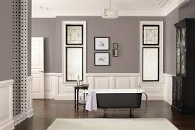 home decorating trends 2017 decorations stylish gray color scheme of bathroom with painting