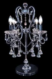 crystal chandelier table lamps in home decorating ideas with crystal chandelier table lamps home decoration ideas