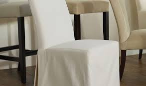 Linen Slipcovered Dining Chairs Slip Covered Dining Chairs Spice Up Your Room With Stylish
