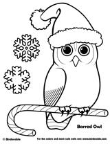 christmas owl coloring hand kiddos origami