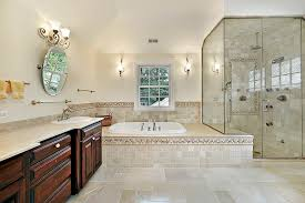 Master Bathroom Design Ideas Master Bath With Large Glass Shower Master Bathroom Designs For