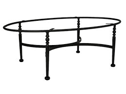 Oval Wrought Iron Patio Table by Coffee Table Glass And Wrought Iron Tables Black Set In Modern