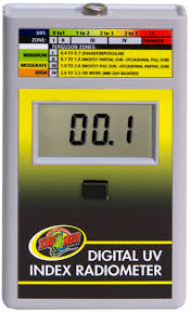Zoo Med Lights by Buy Radiometer Light Measurement Reptile Centre