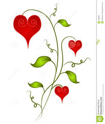 clipart hearts and flowers yafunyafun com