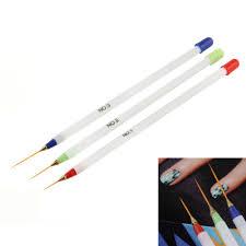nail art design diy drawing painting striping nail gel pen nail