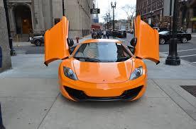 orange mclaren 12c 2012 mclaren mp4 12c stock l252a for sale near chicago il il