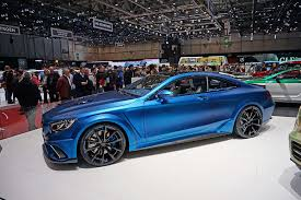 mercedes s coupe mercedes s class coupé tuned by mansory geneva motor 2015