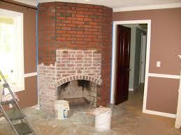 how to update a brick fireplace binhminh decoration