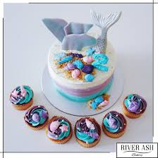 mermaid cakes mermaid cake cupcakes singapore the sea theme cakes sg