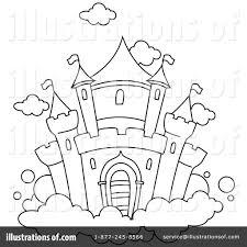 castle clipart 1049865 illustration by bnp design studio