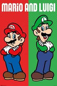 amazon mario u0026 luigi video gaming poster 24x36 posters u0026 prints