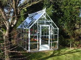 Backyard Green House by Cape Cod Glass Greenhouse Gothic Arch Greenhouses