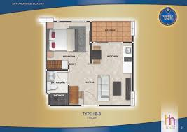 unit plan type arcadia beach continental condominium pattaya