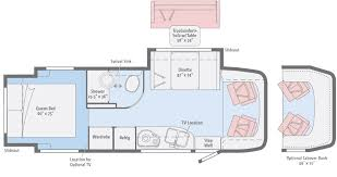 Floor Plan View View Floorplans Winnebago Rvs