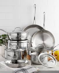 calphalon black friday deals 13 pc calphalon tri ply ss cookware set 7 pc utensil set 12
