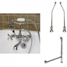 Faucet For Tub by Brunswick Wall Mount Tub Faucet U0026 Hand Shower Bathroom