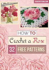 how to crochet a 32 free patterns guide patterns