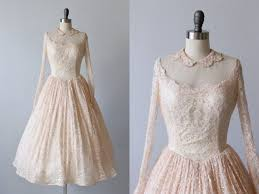 50 s wedding dresses vintage 1950s wedding dress 50s tea length dress blush pink