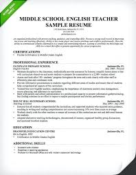 sample teacher resume cover letter sample teachers resume samples