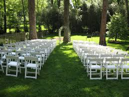Pictures Of Backyard Wedding Receptions Cheap Diy Outdoor Wedding Ideas Do It Your Self