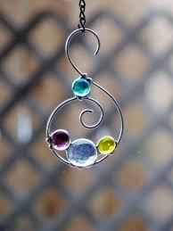 166 best stained glass ornaments suncatchers images on