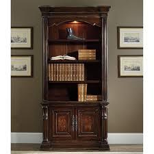 Single Bookcase Hooker Furniture Grand Palais Writing Desk Brown Hayneedle
