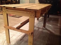 Diy Pallet Desk Diy Pallet Desk Table Pallet Furniture Plans