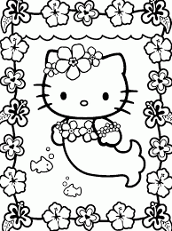 princess kitty coloring pages coloring