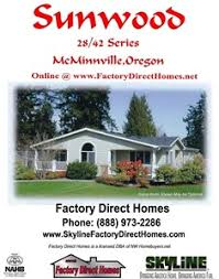 Ready To Build House Plans Brochures Of Skyline Manufactured Home Models Floor Plans And