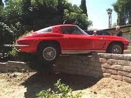 split window corvette value brakes fail split window corvette lands on wall corvette sales