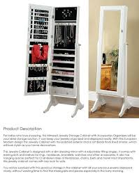 floor length mirror cabinet full length mirror jewelry storage for sale wall image with inside m