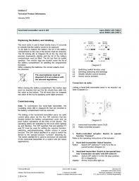 fisa tehnica transmitator manual s 425 siemens sisteme de