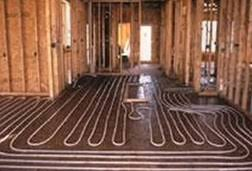 low energy costs with radiant heat flooring the concrete