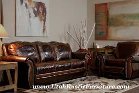 bradley u0027s furniture etc rustic leather couch collections