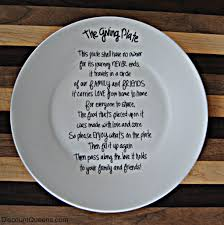 giving plate diy sharpies craft and gift