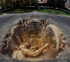 Optical Illusion Wallpaper by 3d Optical Illusion Street Art 50 Hd Art Wallpapers For Mobile