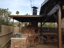 Fire Pit Pizza - brick smoker bbq pit fire pit design ideas