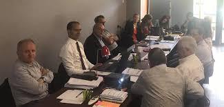 chambre de commerce creuse réunion des membres du bureau de la cci creuse chambre