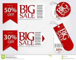 sale card promotion percentage retail stock vector image