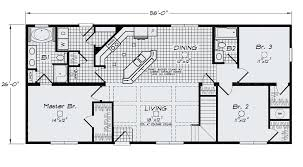 large ranch floor plans open floor plan large kitchen bar island sink standard