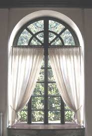 Arch Window Curtains Arch Window Treatment Traditional Curtains Valances Pinterest